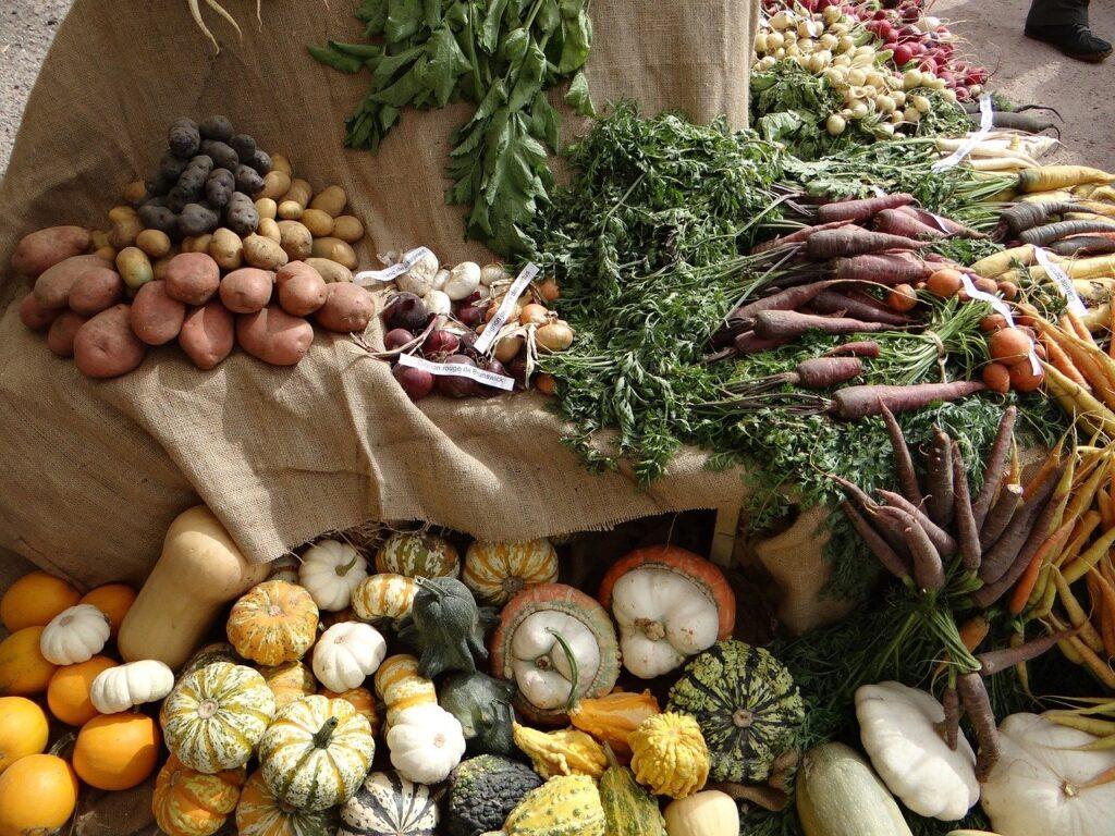 vegetables, old vegetables, etal